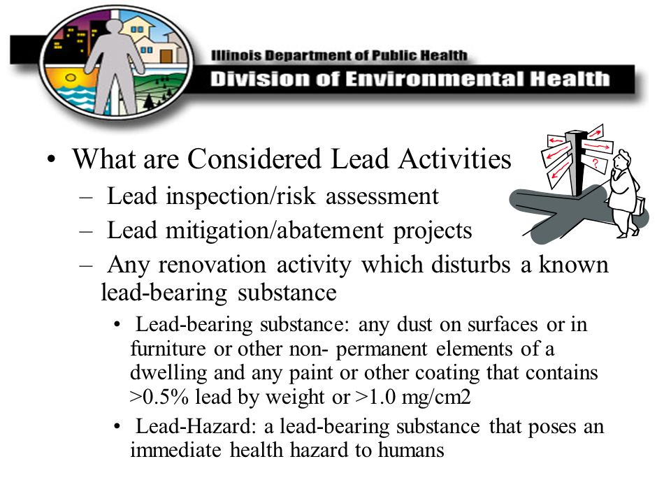 What are Considered Lead Activities