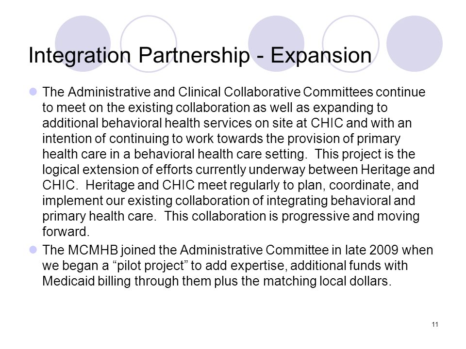 Integration Partnership - Expansion