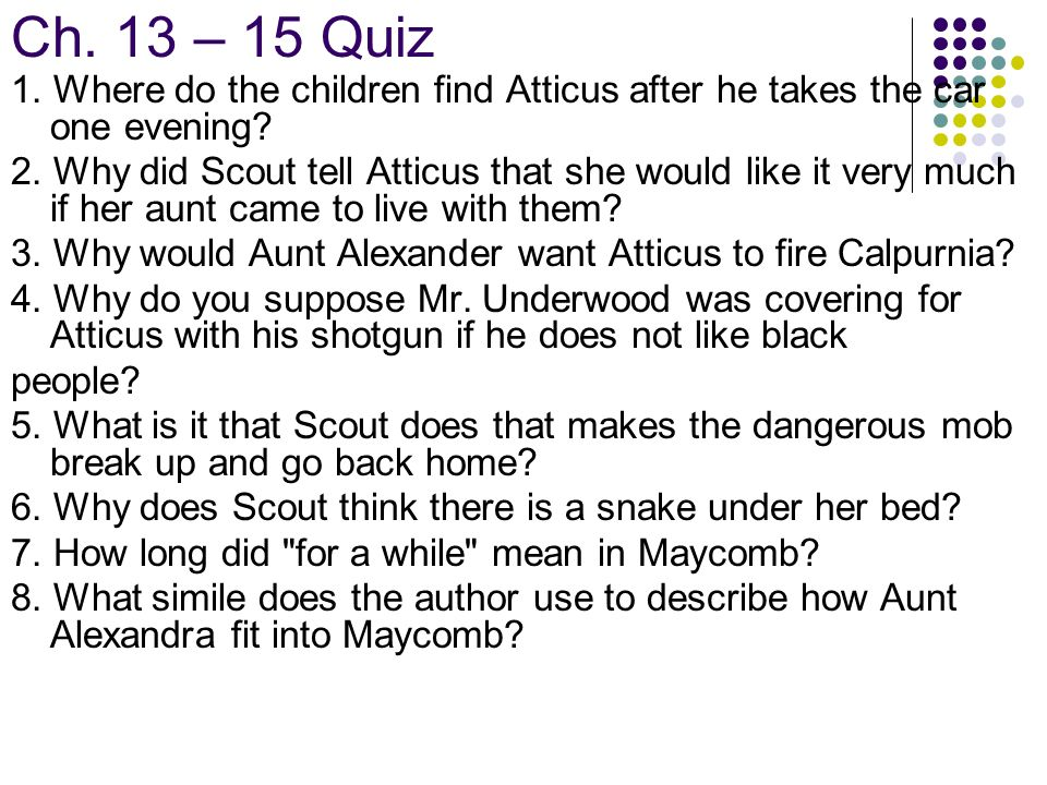 black people and aunt alexandra essay How to kill a mockingbird ch questions  francis and aunt alexandra,  seem to persecute lots of people especially black people just because their skin 2.