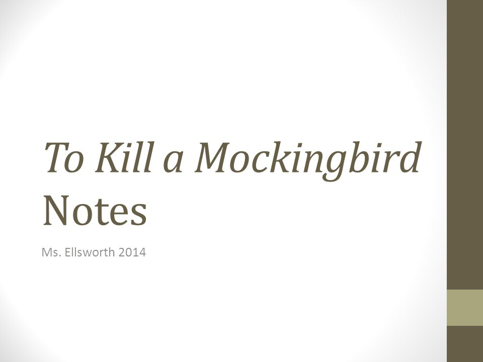 to kill a mockingbird notes and Buy to kill a mockingbird: york notes for gcse (grades a-g) by beth sims ( isbn: 9781408248836) from amazon's book store everyday low prices and free .