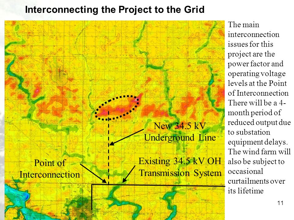 Interconnecting the Project to the Grid
