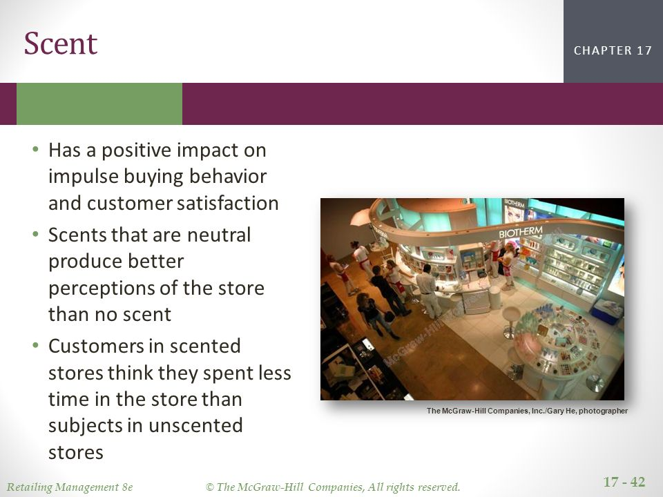 effects of in store design on impulse purchase The relative and interaction effects of these influences another contribution of this study was the practical implications of findings by revealing the relative importance of situational influences on impulse buying, it was possible to recommend effective marketing strategies and store design practices to retailers to attract.
