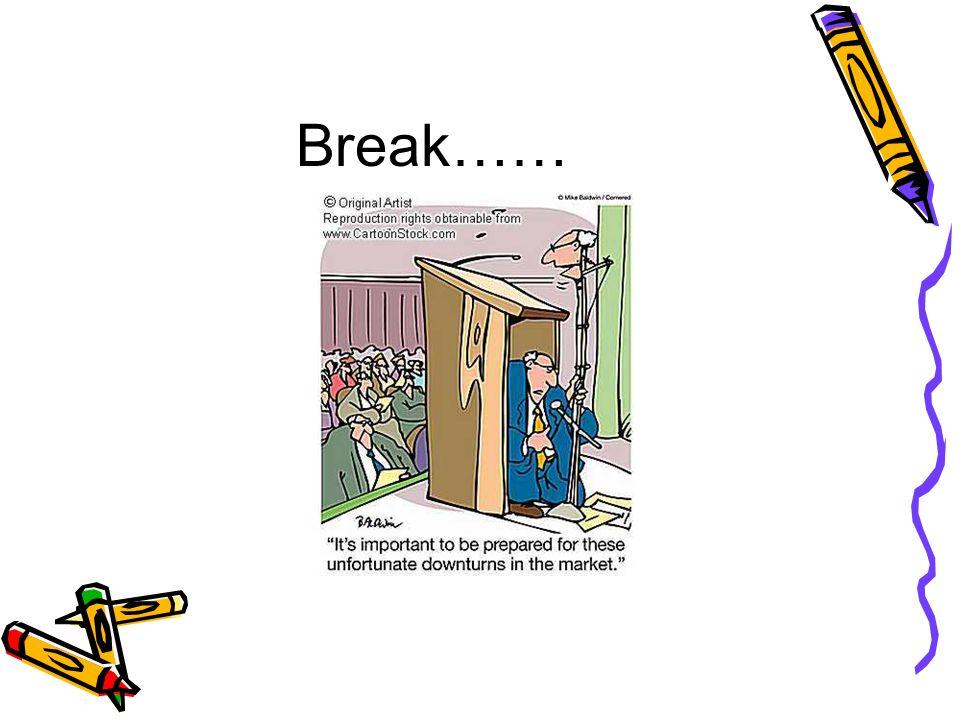 Break……