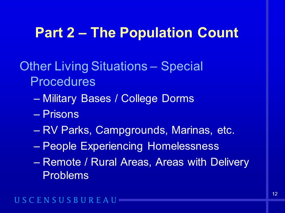 Part 2 – The Population Count