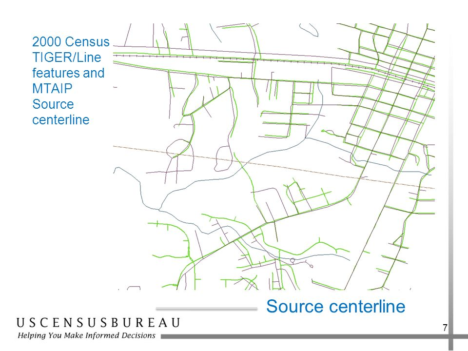 2000 Census TIGER/Line features and MTAIP Source centerline