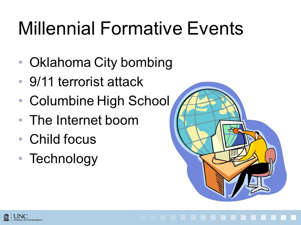 Millennial Formative Events