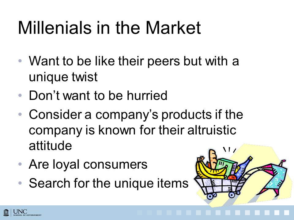 Millenials in the Market