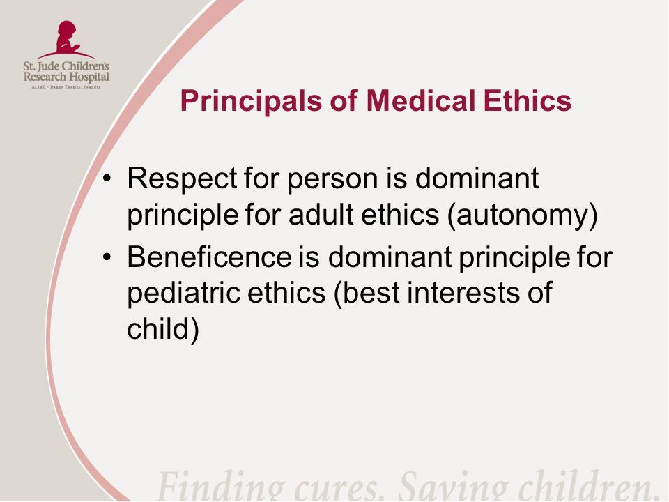 Principals of Medical Ethics