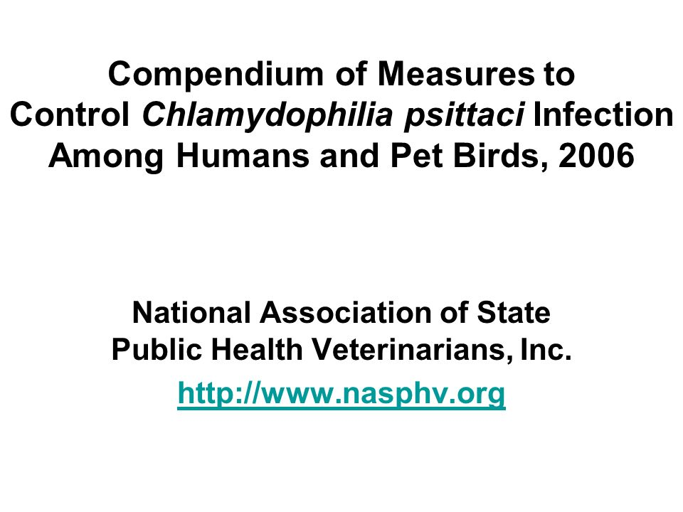 National Association of State Public Health Veterinarians, Inc.