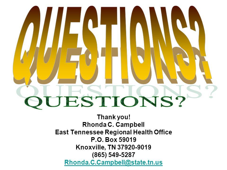 East Tennessee Regional Health Office
