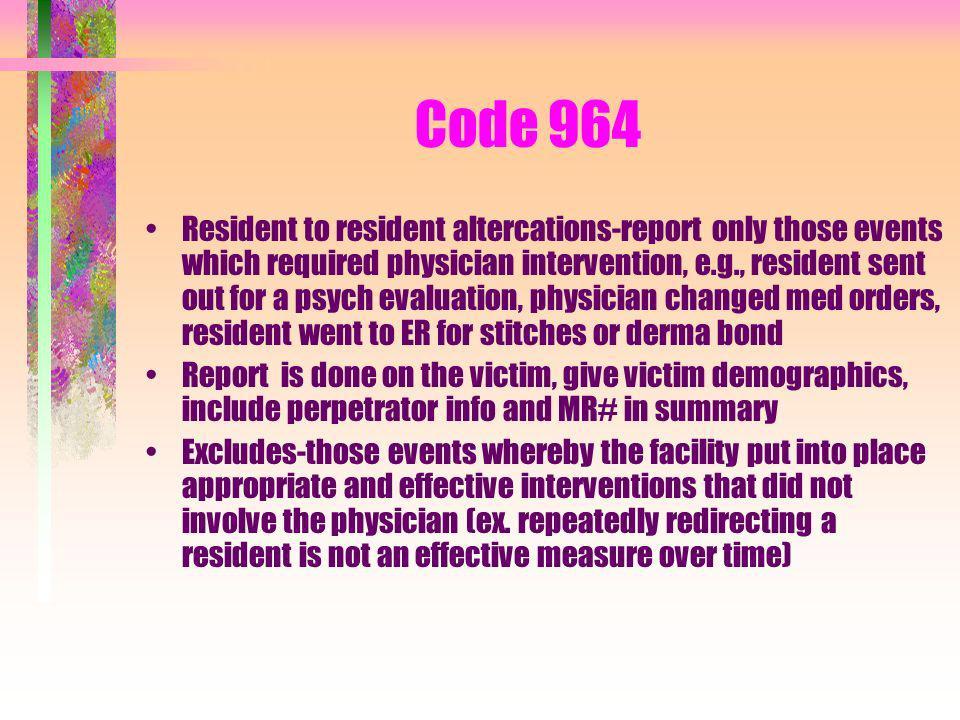 Code 964