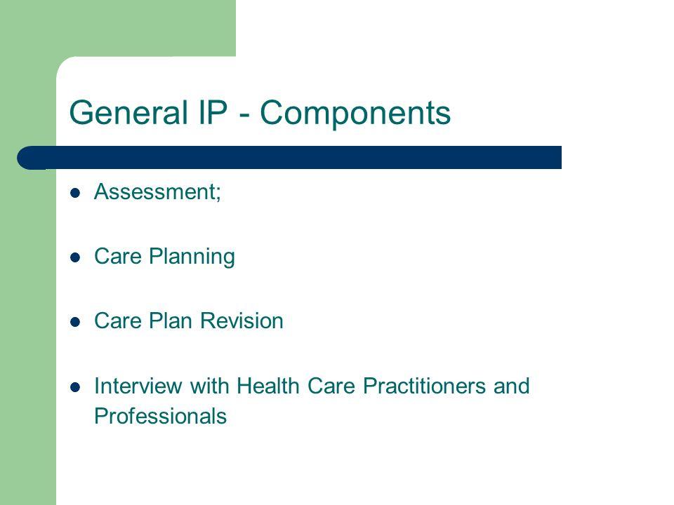General IP - Components