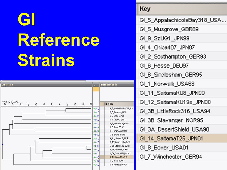 GI Reference Strains