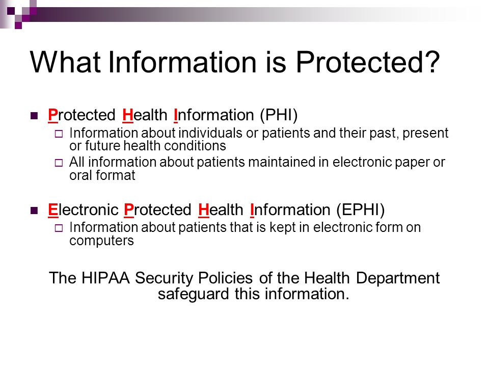 what is health protection