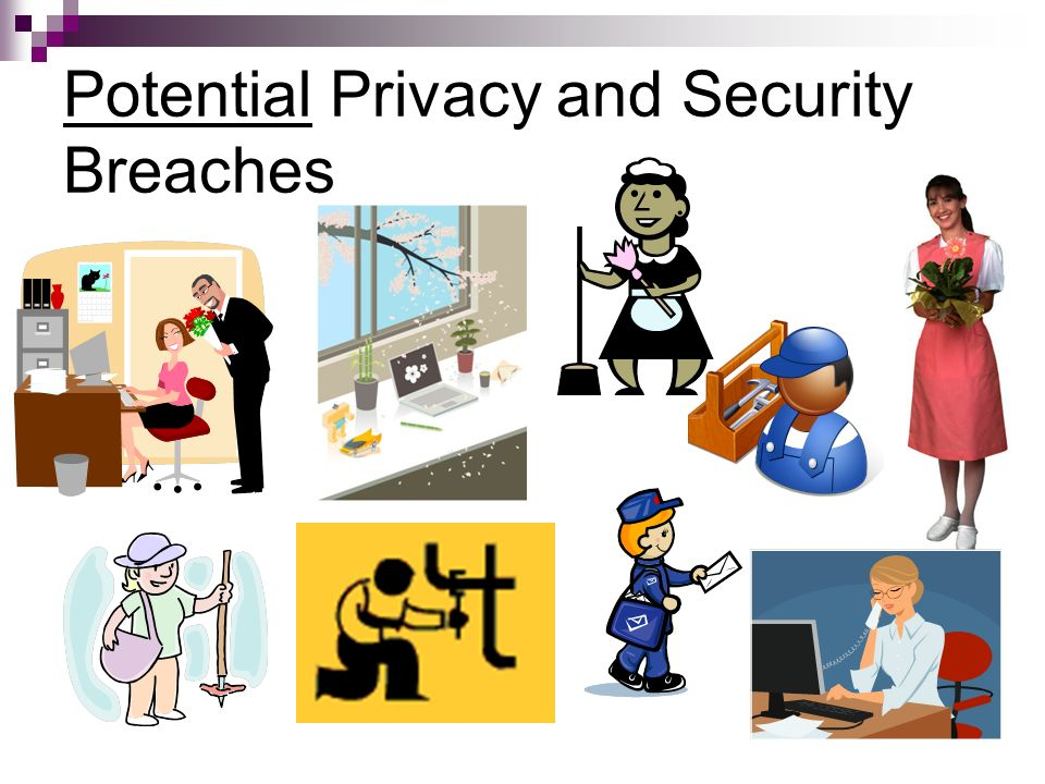 Potential Privacy and Security Breaches