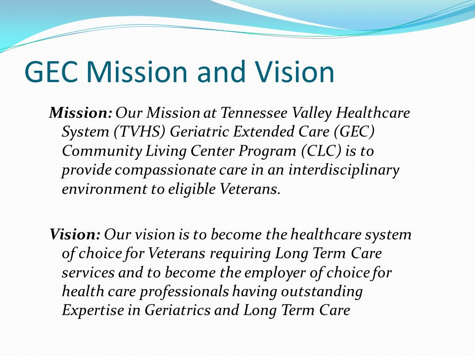 GEC Mission and Vision