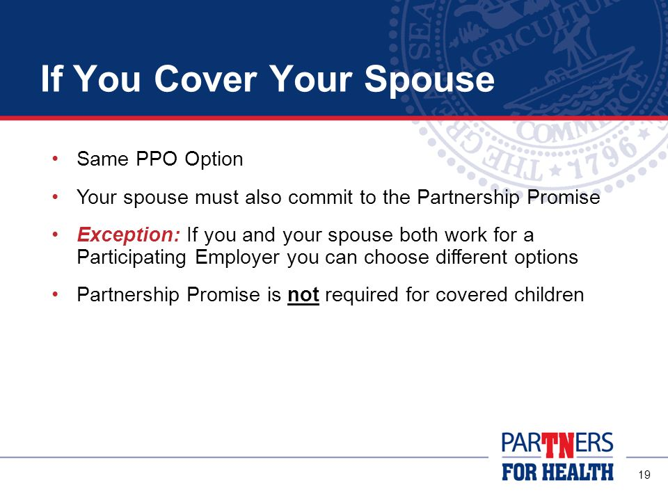 If You Cover Your Spouse