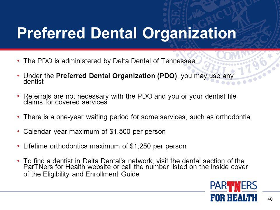Preferred Dental Organization