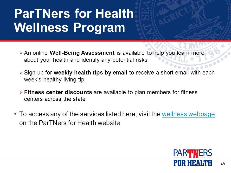 ParTNers for Health Wellness Program
