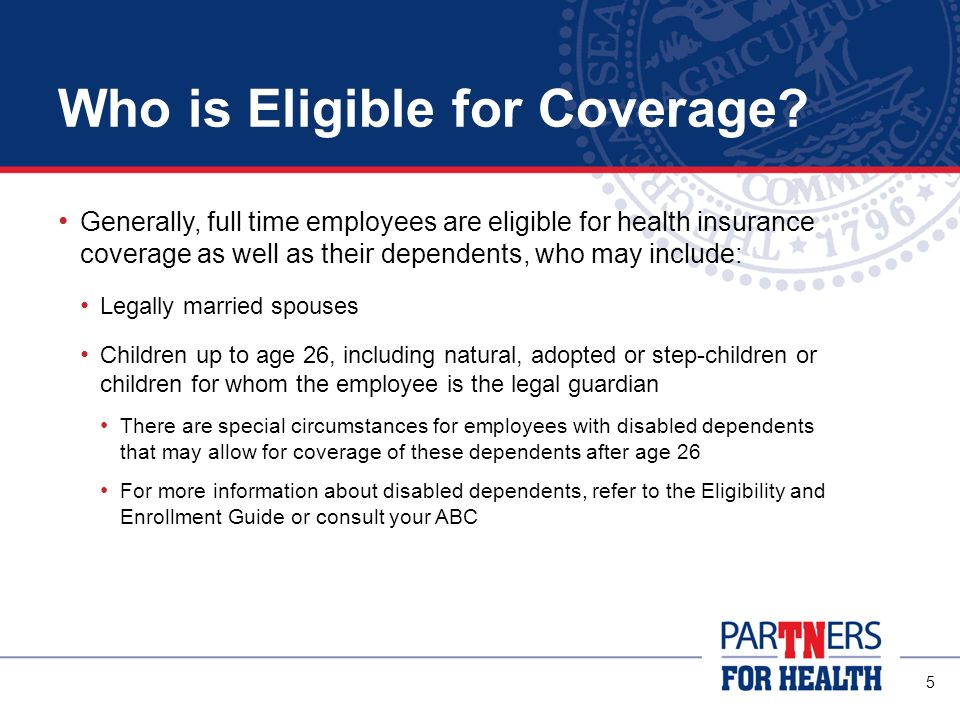 Who is Eligible for Coverage