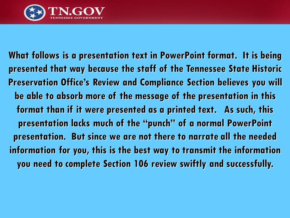 What follows is a presentation text in PowerPoint format