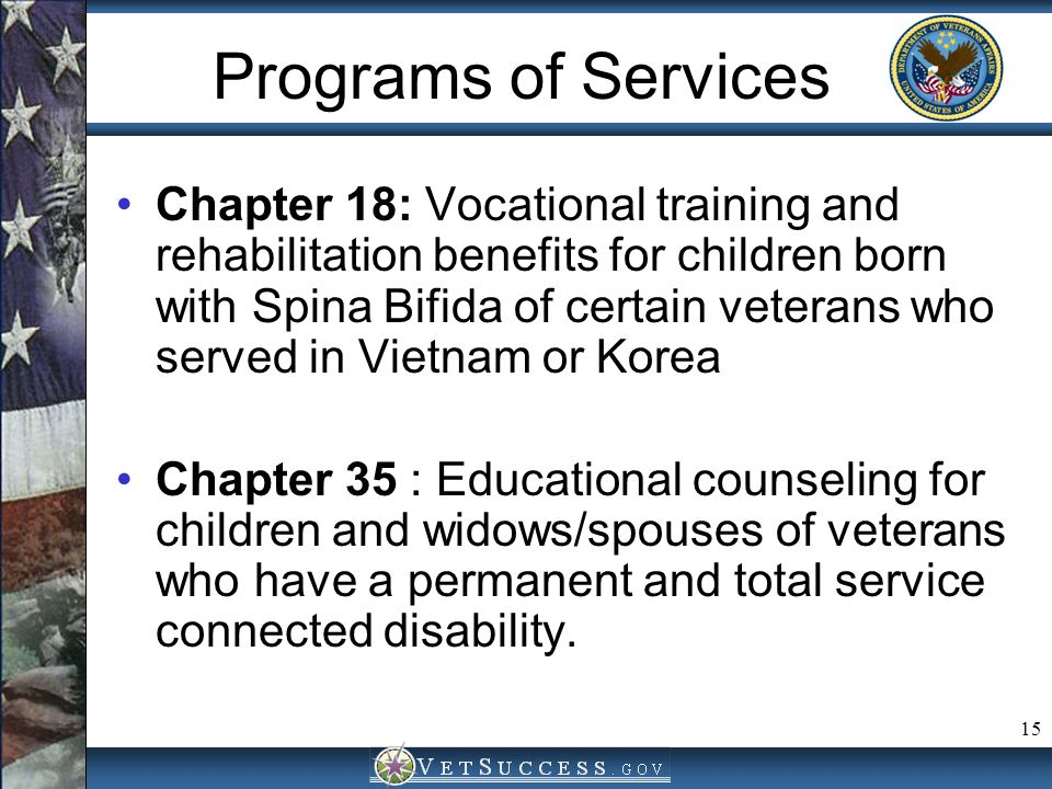 Programs of Services