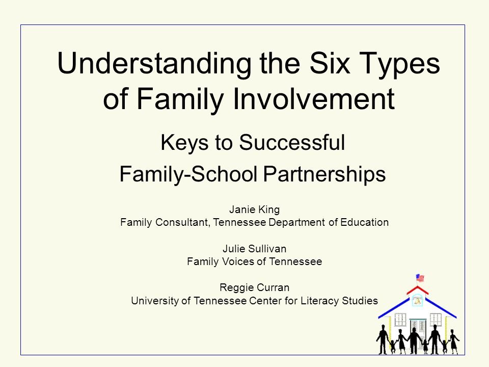 Understanding the Six Types of Family Involvement