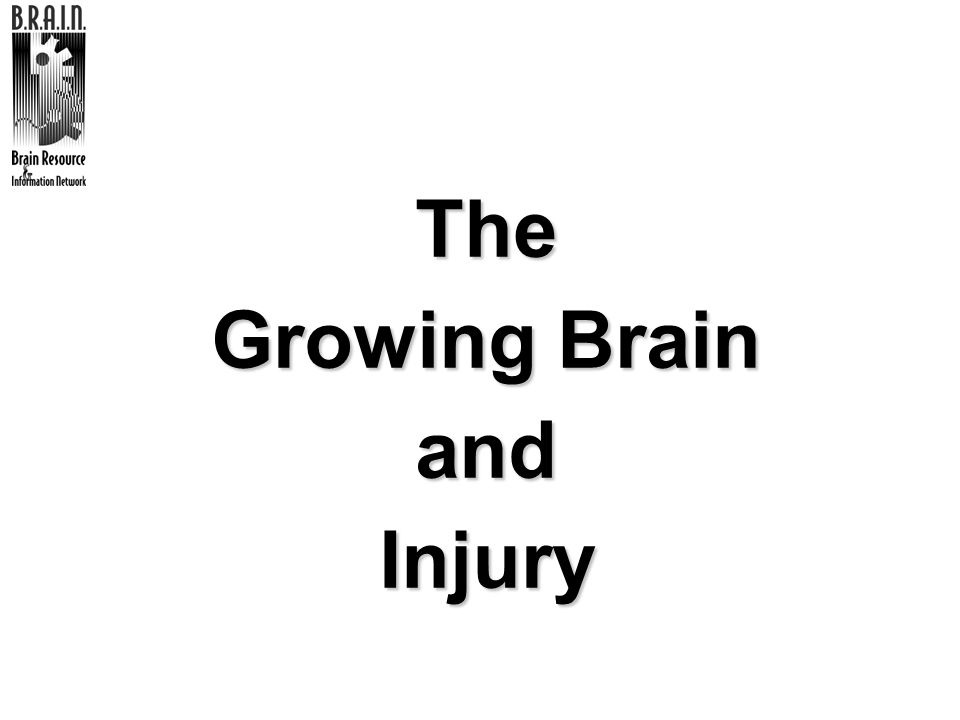 The Growing Brain and Injury