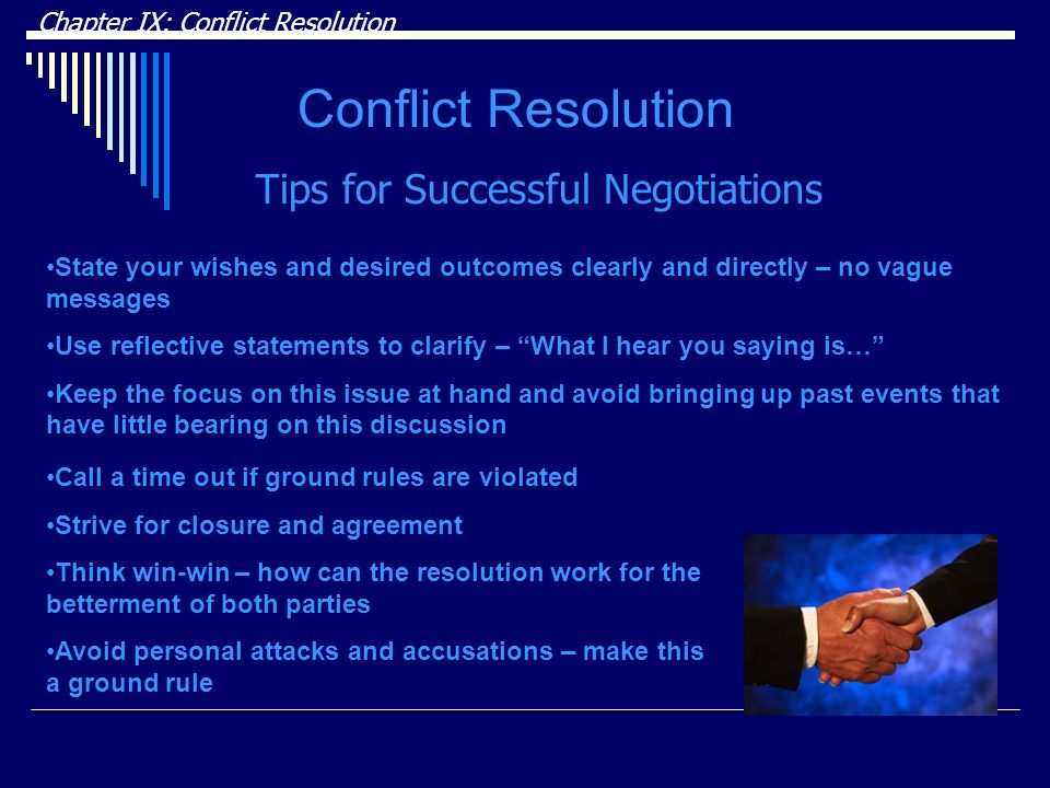 Conflict Resolution Tips for Successful Negotiations