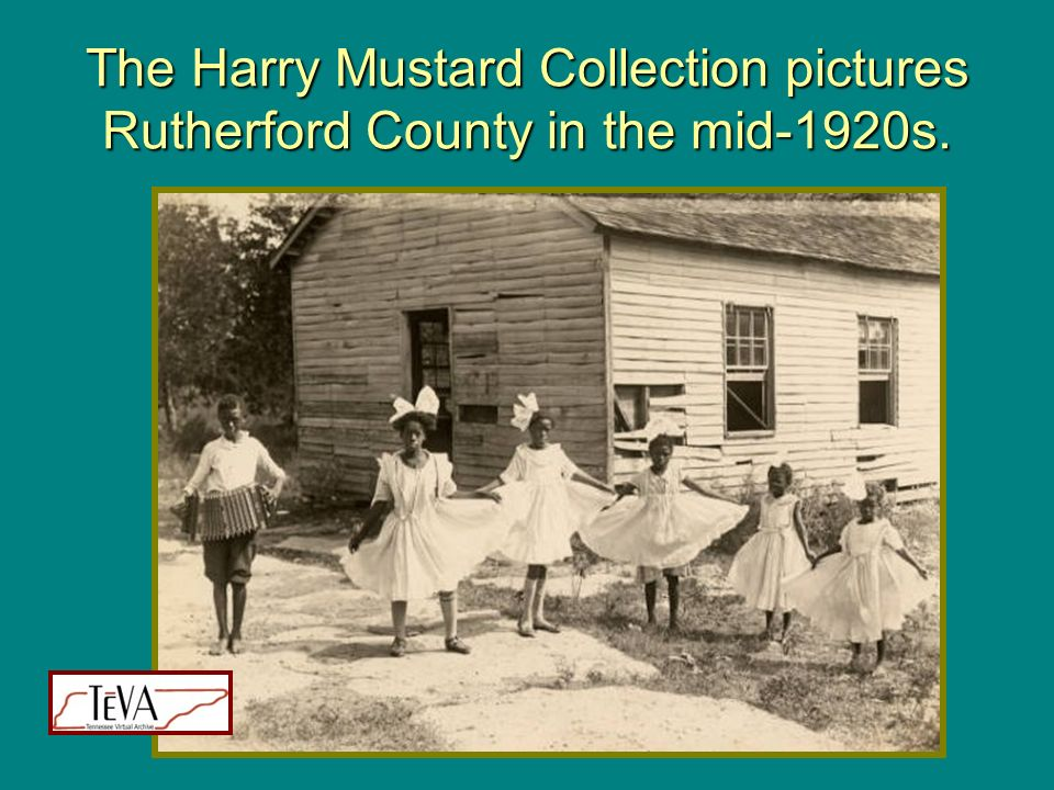 The Harry Mustard Collection pictures Rutherford County in the mid-1920s.