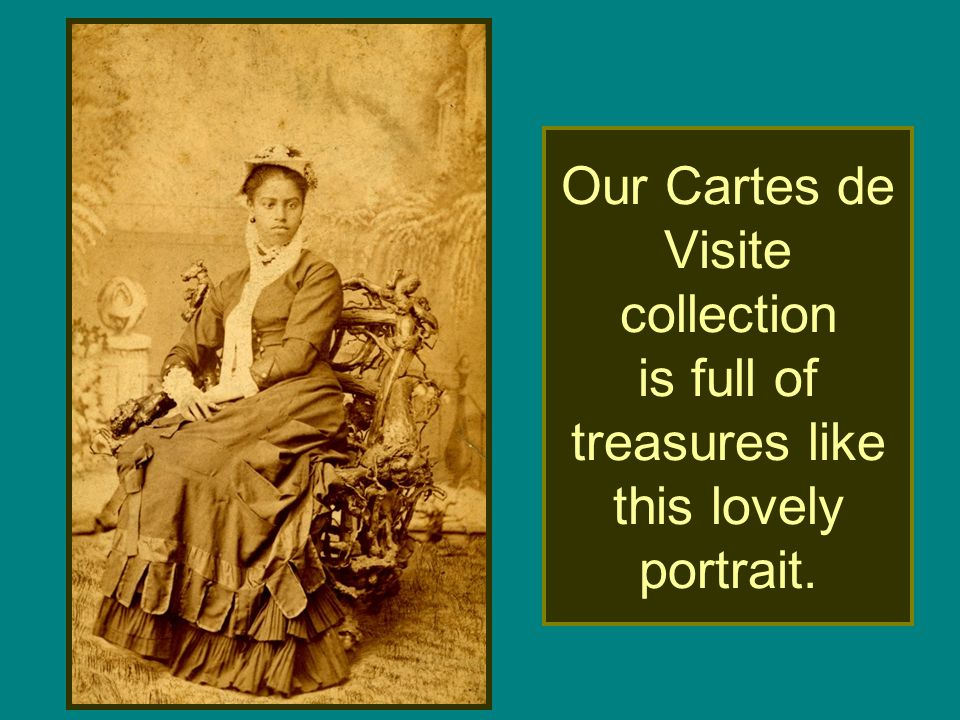 Our Cartes de Visite collection is full of treasures like this lovely portrait.