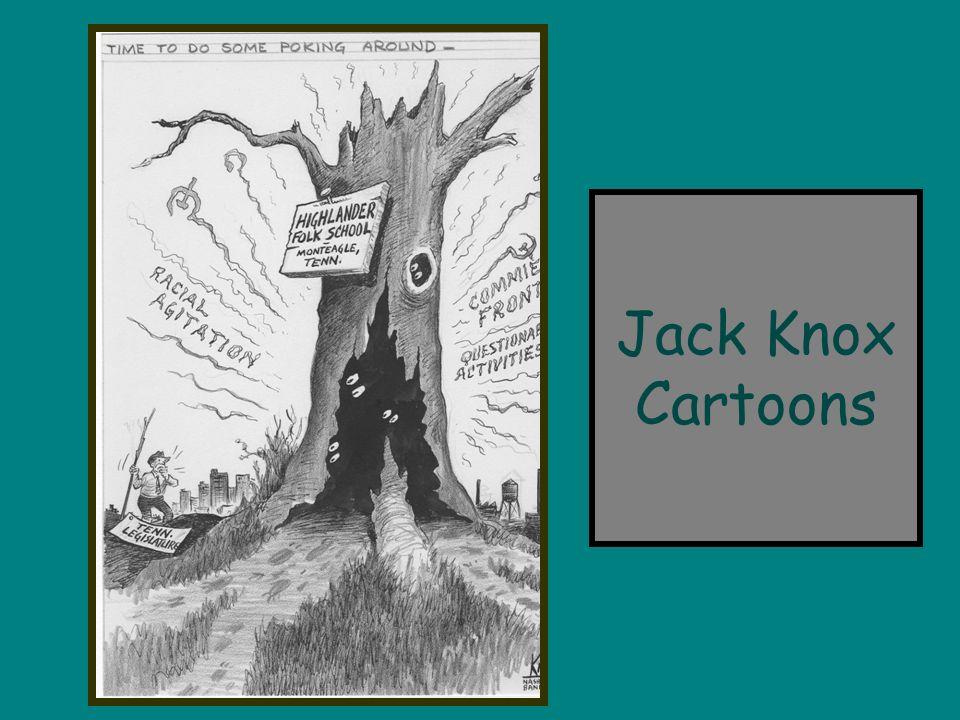 Jack Knox Cartoons