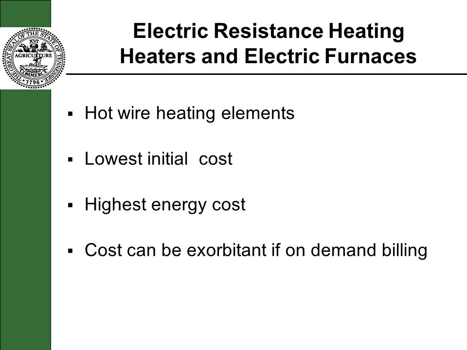 Electric Resistance Heating Heaters and Electric Furnaces