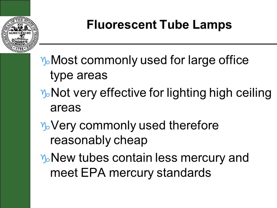 Fluorescent Tube Lamps