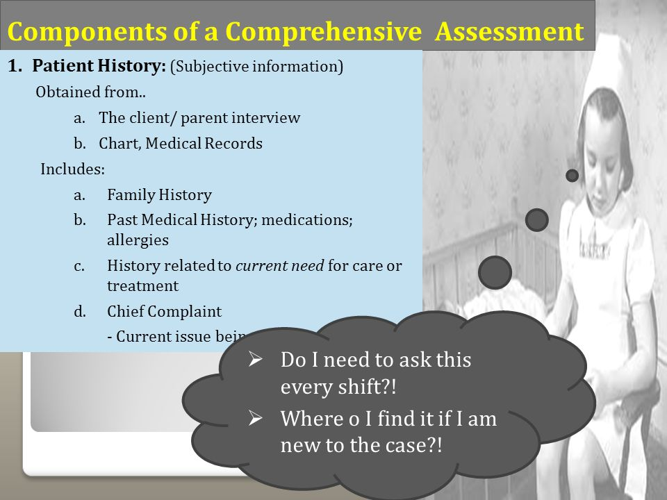 the comprehensive pediatric health assessment