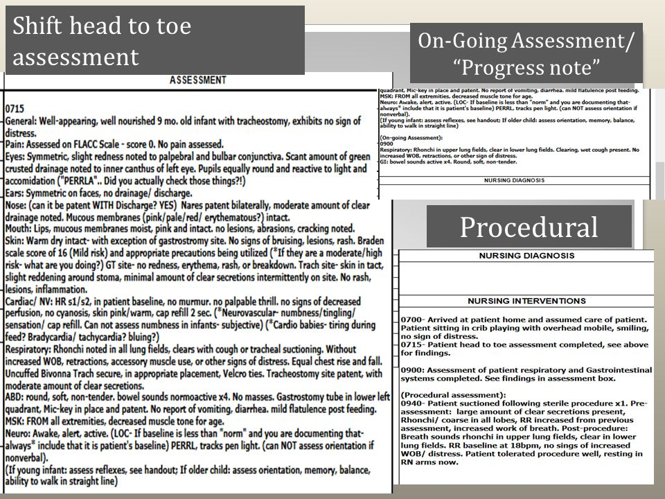 pediatric assessment report Pre-assessment information instructions: answer all questions as thoroughly as possible use a separate page to include.