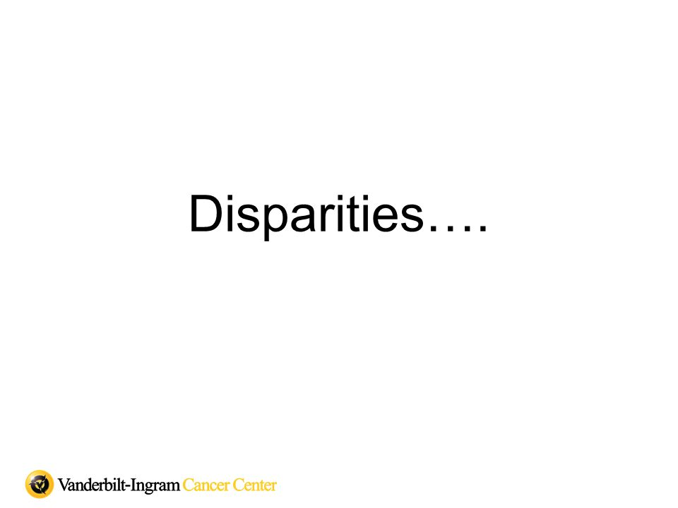 Disparities….