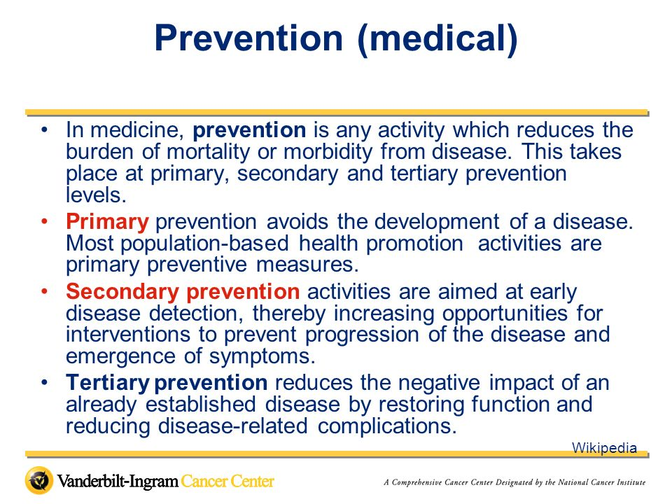 Prevention (medical)