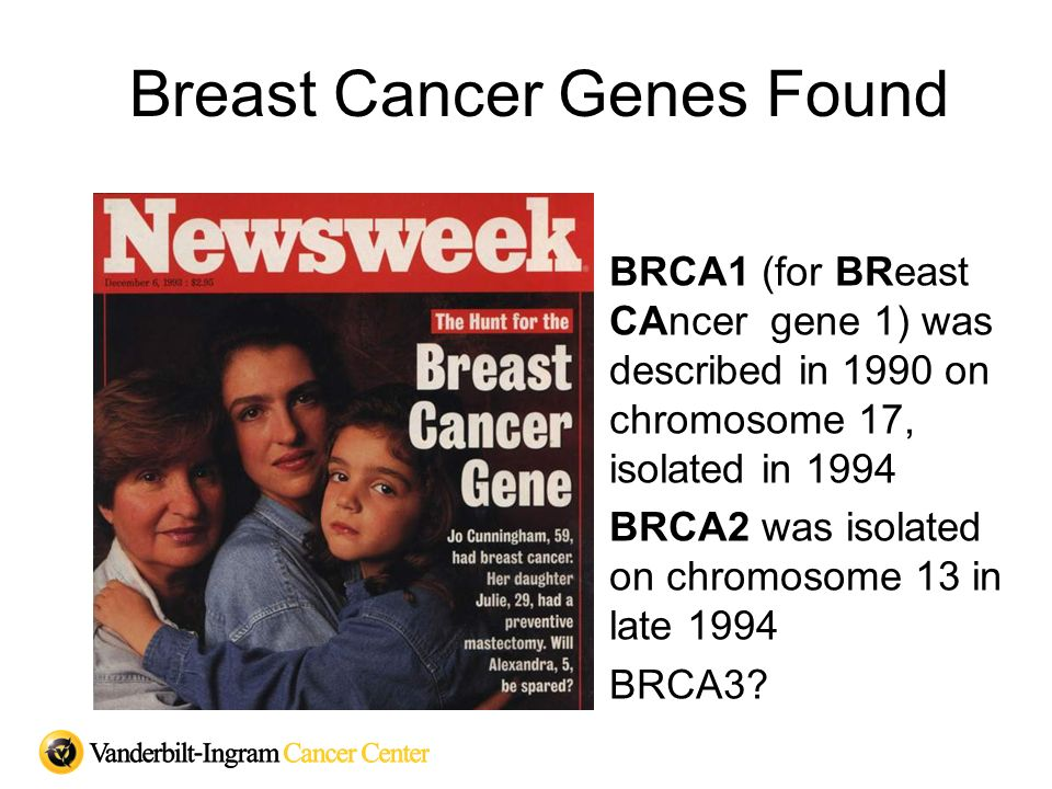 Breast Cancer Genes Found