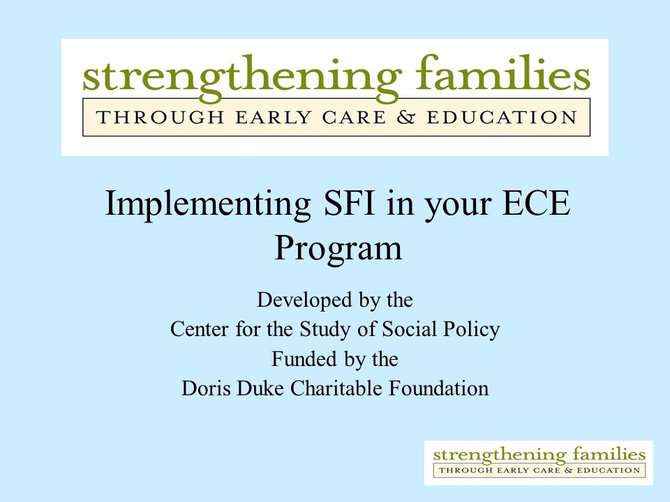 Implementing SFI in your ECE Program