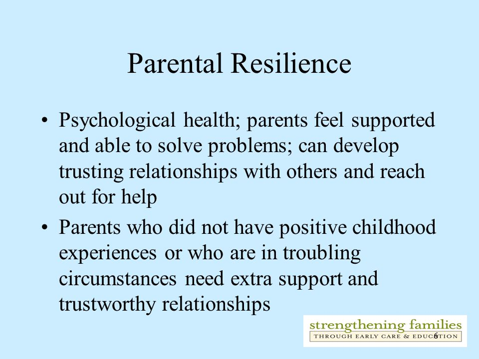 Parental Resilience