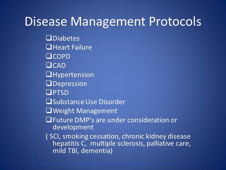 Disease Management Protocols