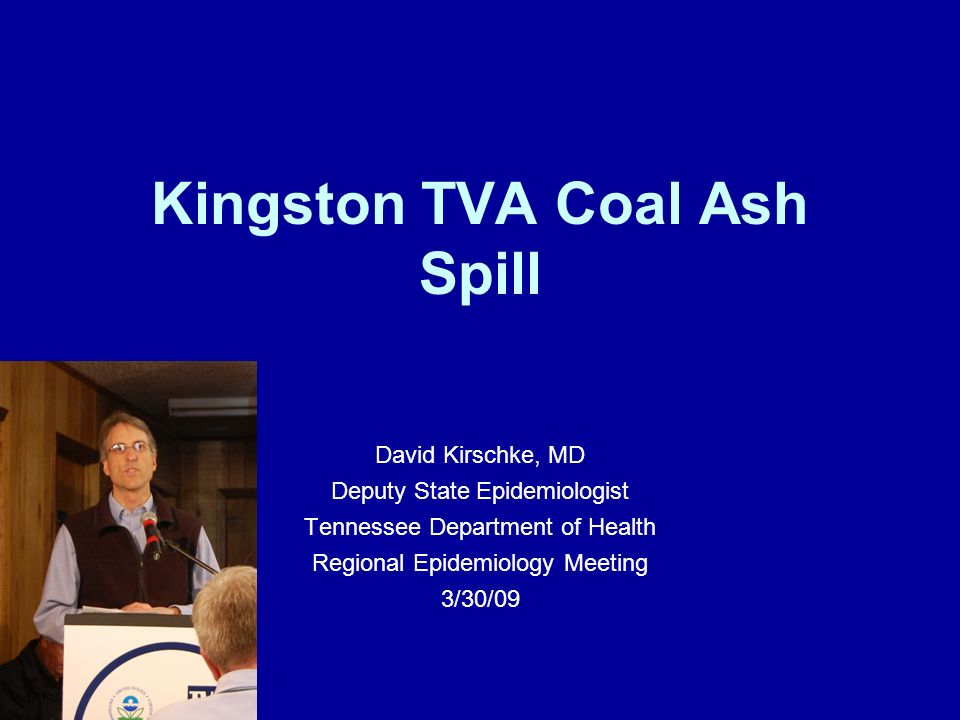Kingston TVA Coal Ash Spill