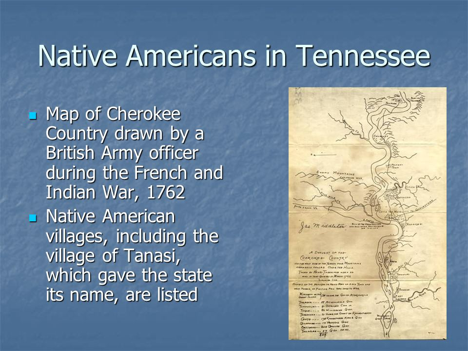 Native Americans in Tennessee
