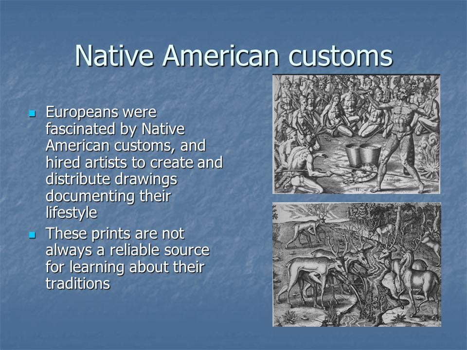 Native American customs