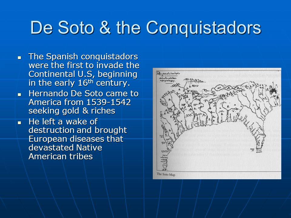 De Soto & the Conquistadors