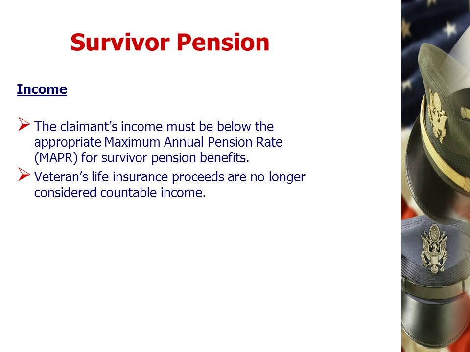 Survivor Pension Income
