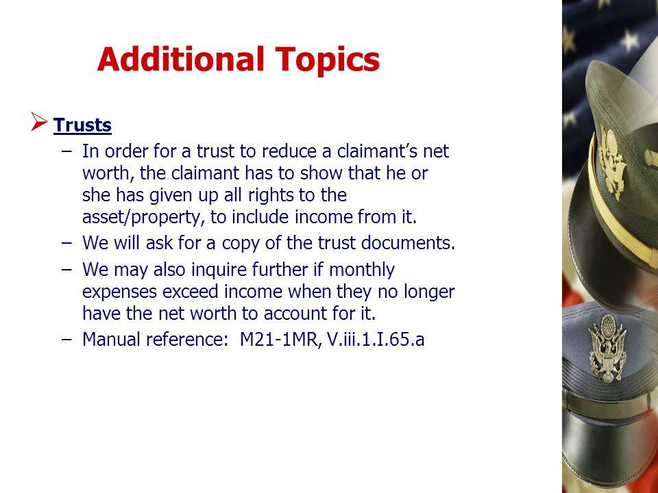 Additional Topics Trusts