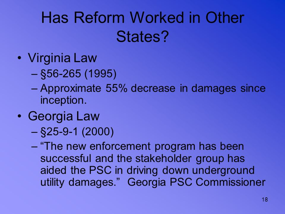 Has Reform Worked in Other States