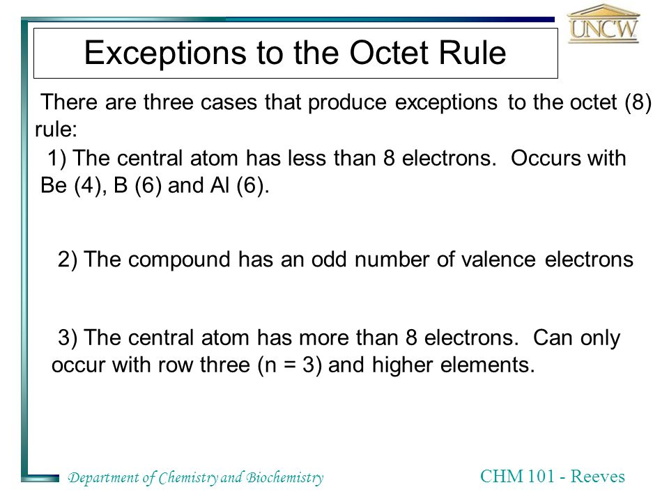 CHM 101 – Chapter Eight Chemical Bonds, Lewis Structures ...